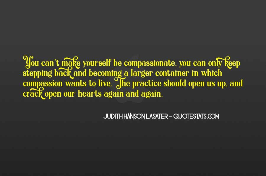 Judith Hanson Lasater Quotes #437557