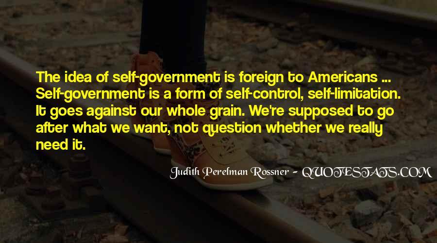 Judith Perelman Rossner Quotes #972380