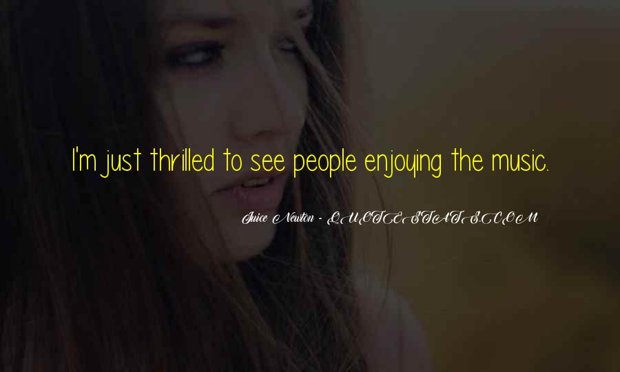 Juice Newton Quotes #90457