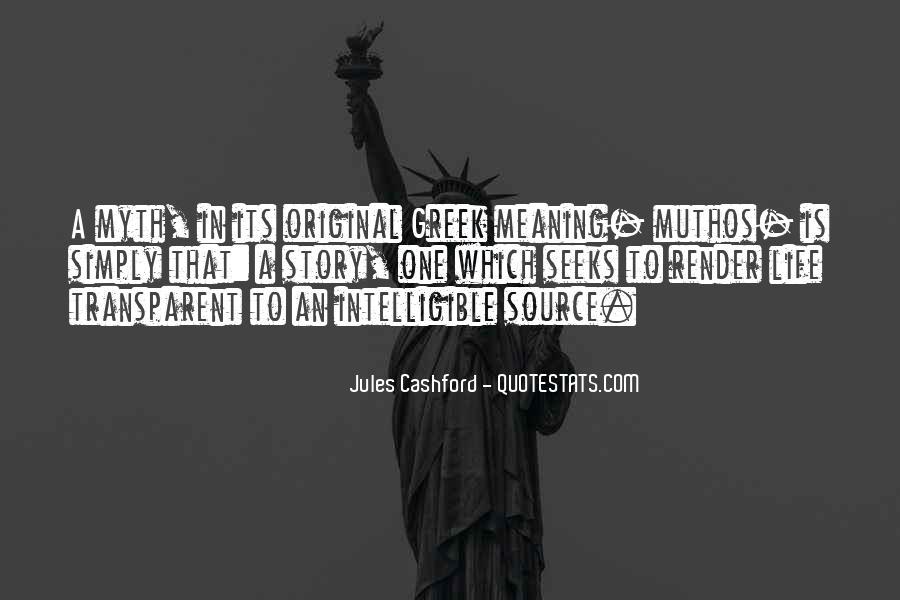 Jules Cashford Quotes #13007