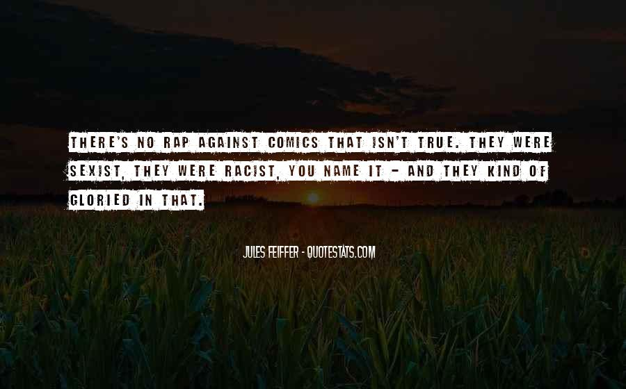 Jules Feiffer Quotes #1420925