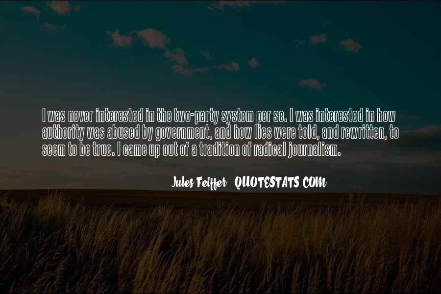 Jules Feiffer Quotes #1706675