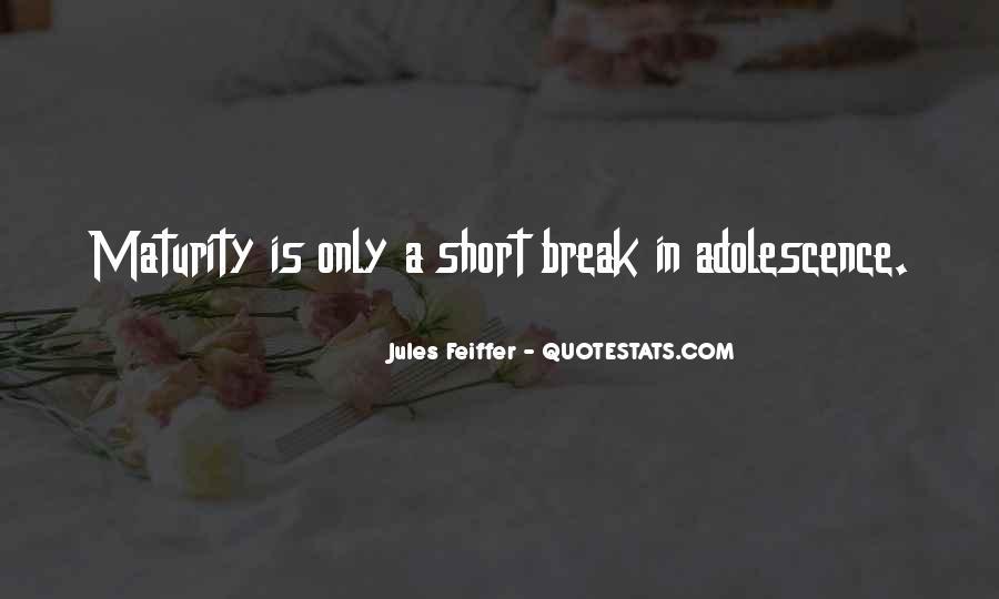 Jules Feiffer Quotes #478591