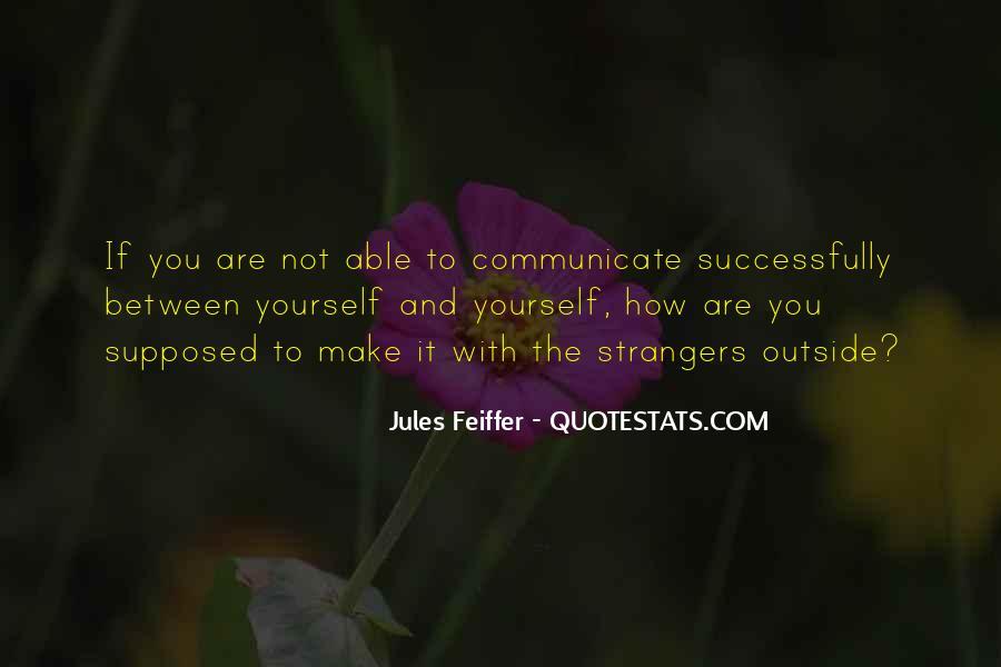 Jules Feiffer Quotes #495424