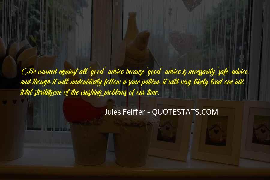 Jules Feiffer Quotes #516914