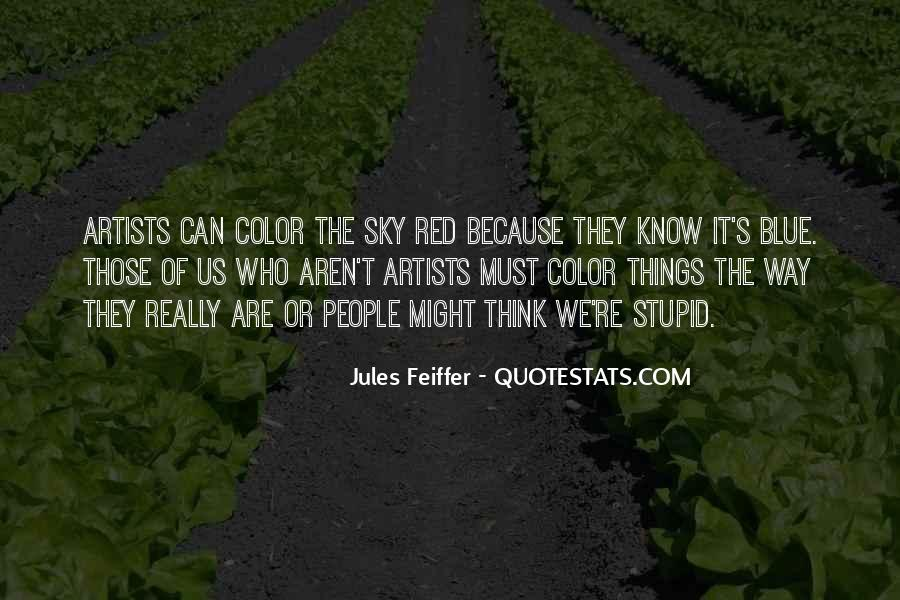 Jules Feiffer Quotes #67077