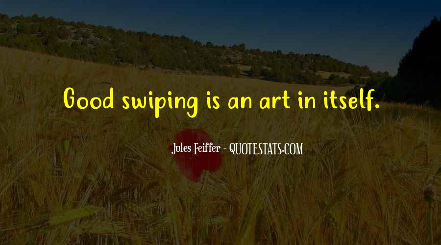 Jules Feiffer Quotes #72720