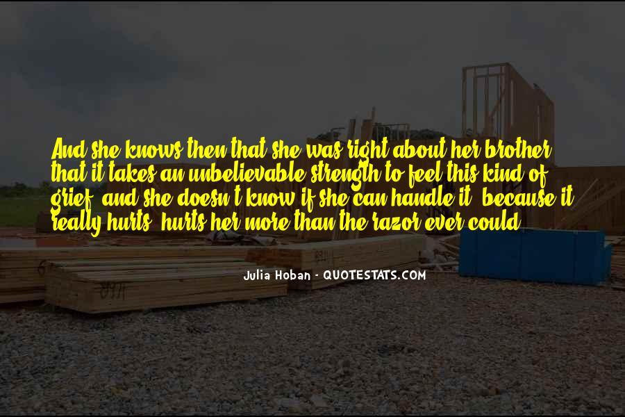 Julia Hoban Quotes #396912