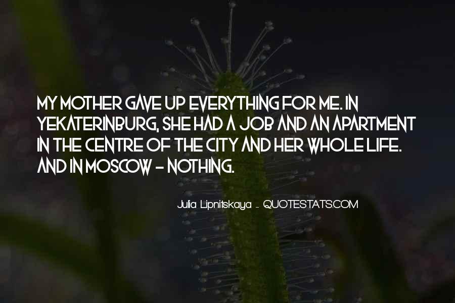 Julia Lipnitskaya Quotes #1454073