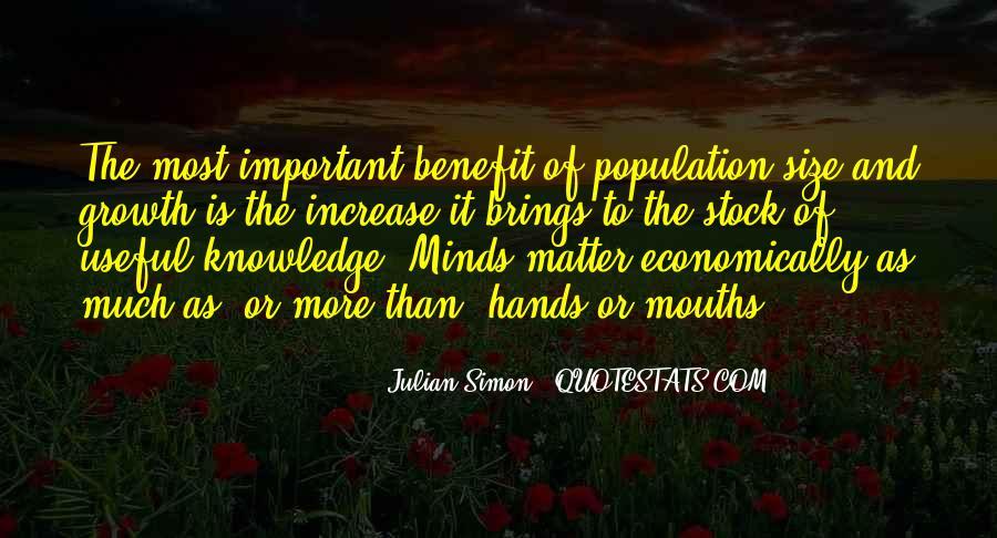 Julian Simon Quotes #1589205