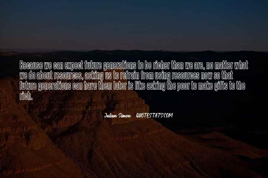Julian Simon Quotes #33850