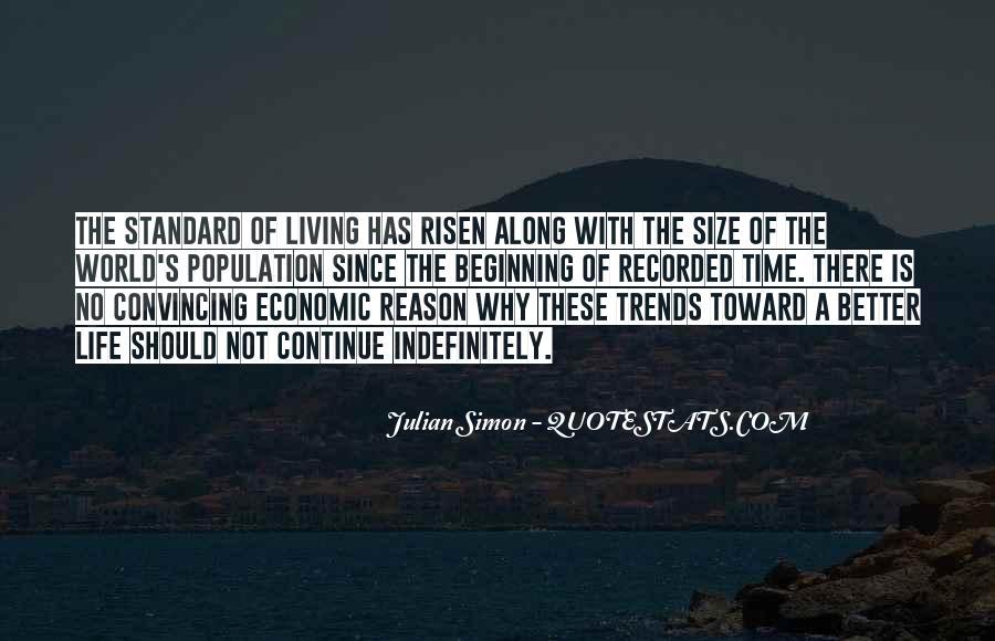 Julian Simon Quotes #797090