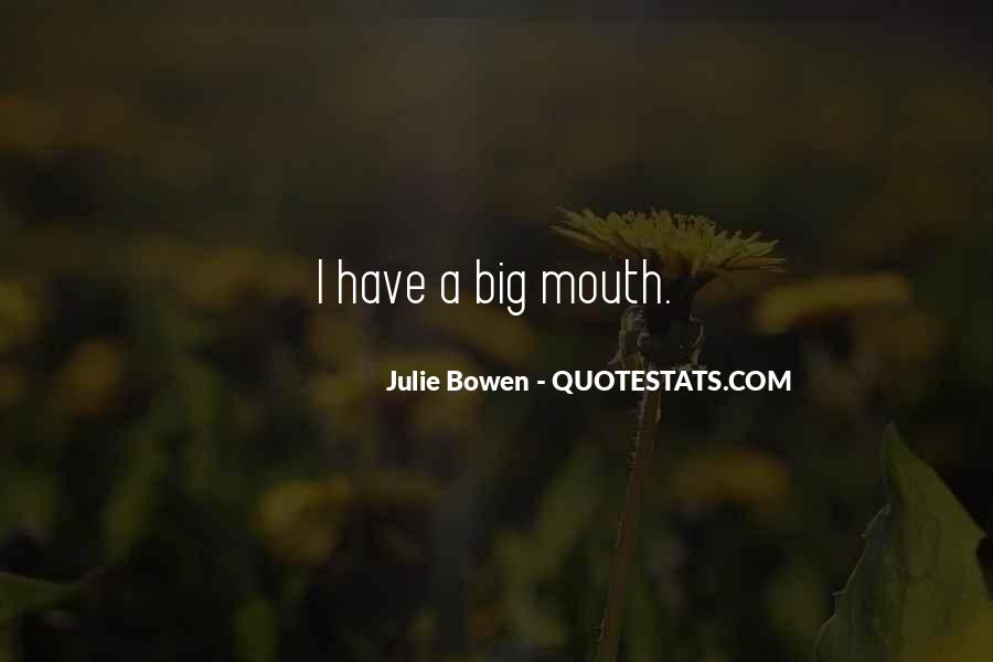Julie Bowen Quotes #284078