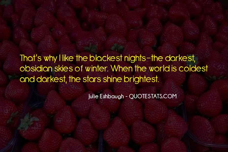 Julie Eshbaugh Quotes #1779315