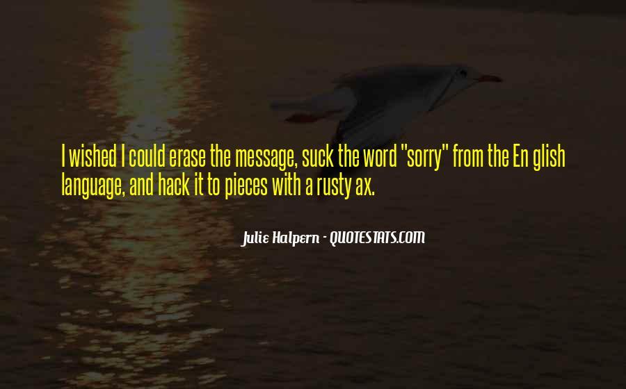 Julie Halpern Quotes #1487597