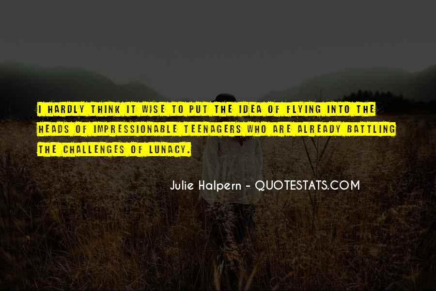 Julie Halpern Quotes #1724189