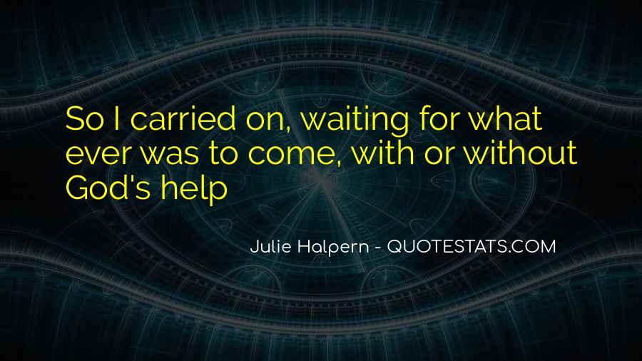 Julie Halpern Quotes #38811