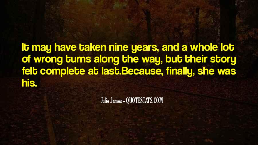 Julie James Quotes #1677970