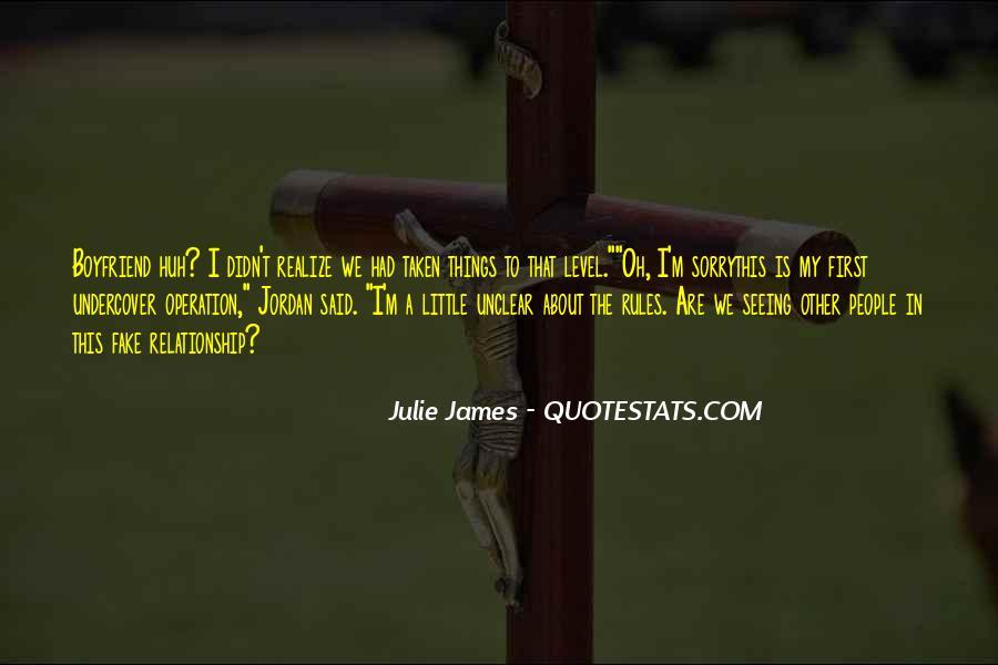 Julie James Quotes #1830818
