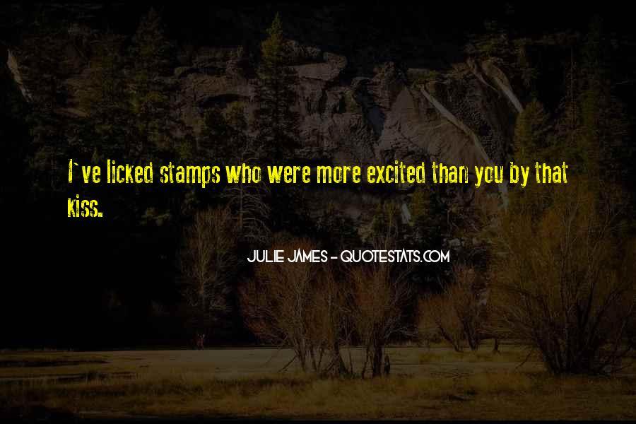 Julie James Quotes #645020