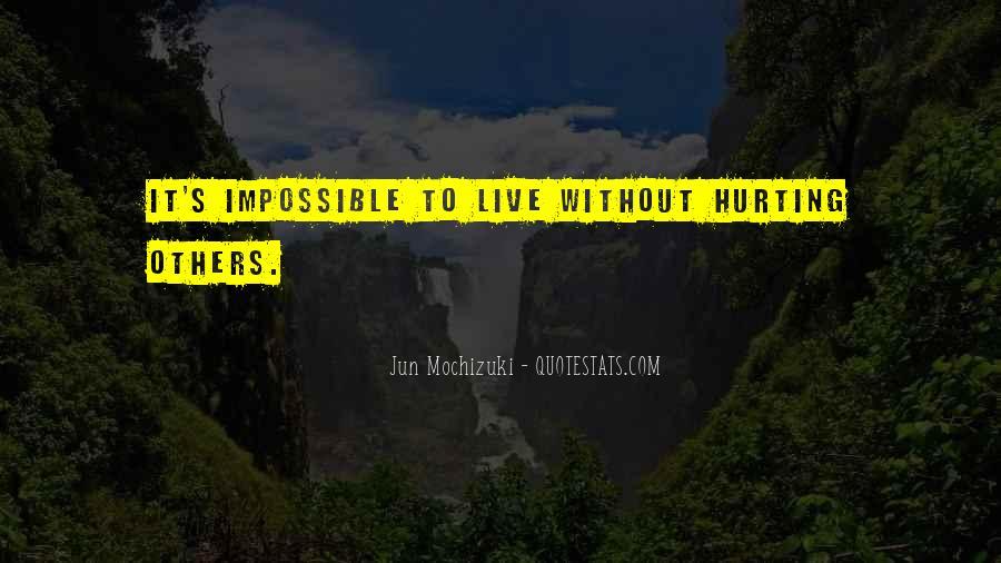 Jun Mochizuki Quotes #1261711