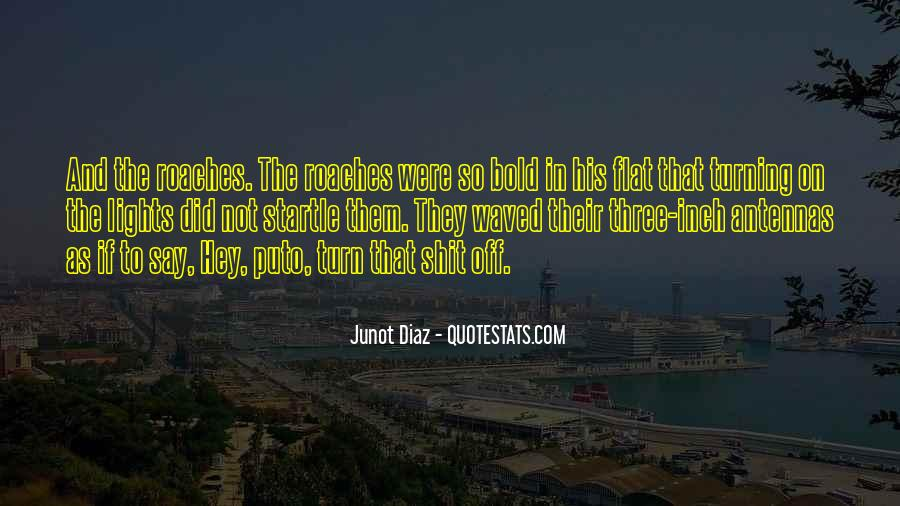 Junot Diaz Quotes #1122614