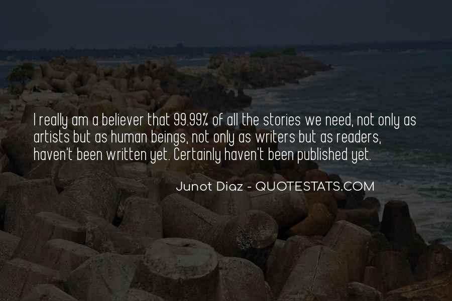 Junot Diaz Quotes #1622893