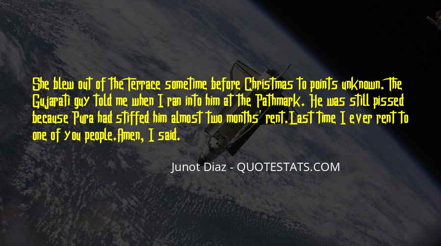 Junot Diaz Quotes #642602