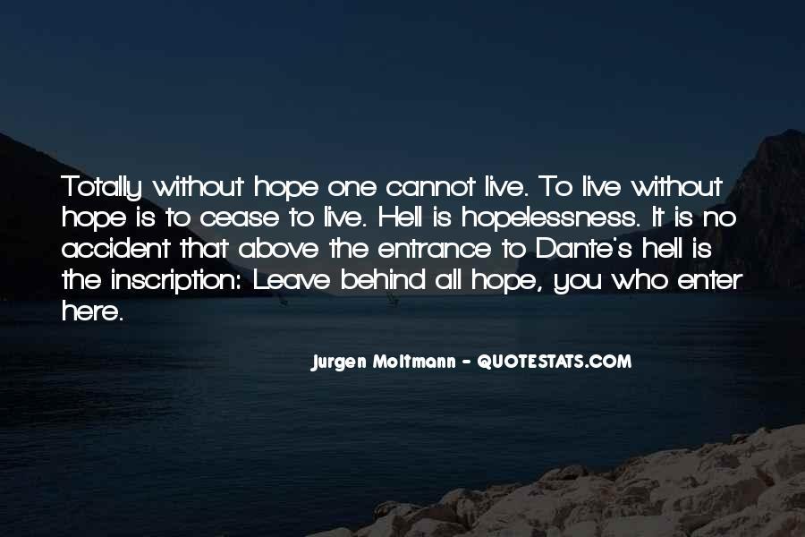 Jurgen Moltmann Quotes #1123327