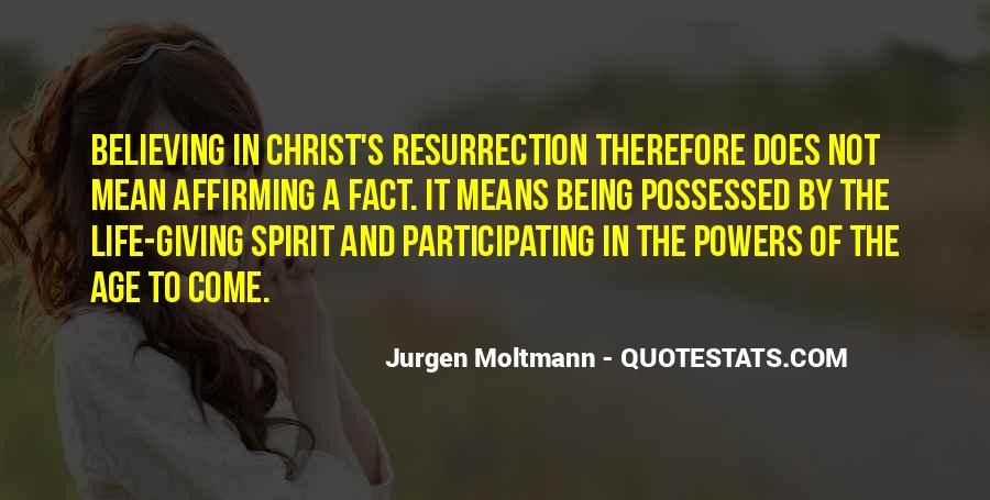 Jurgen Moltmann Quotes #1316970