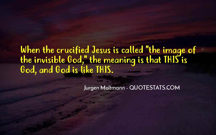 Jurgen Moltmann Quotes #138554