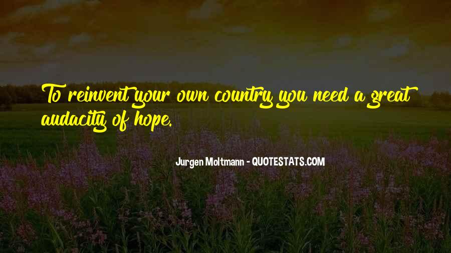 Jurgen Moltmann Quotes #222838
