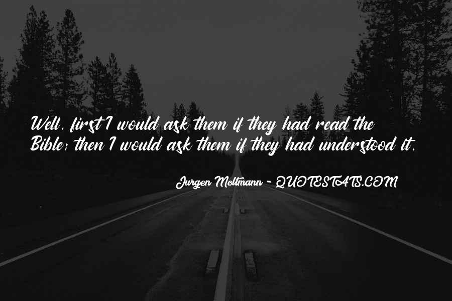 Jurgen Moltmann Quotes #311267
