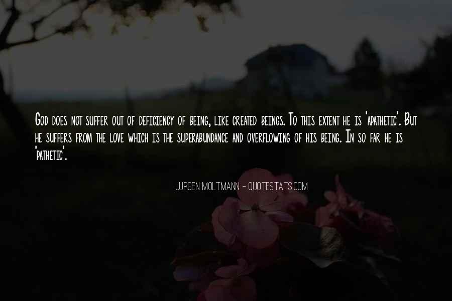 Jurgen Moltmann Quotes #538107