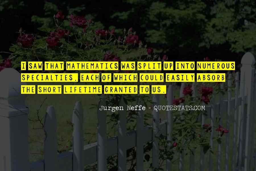 Jurgen Neffe Quotes #549331