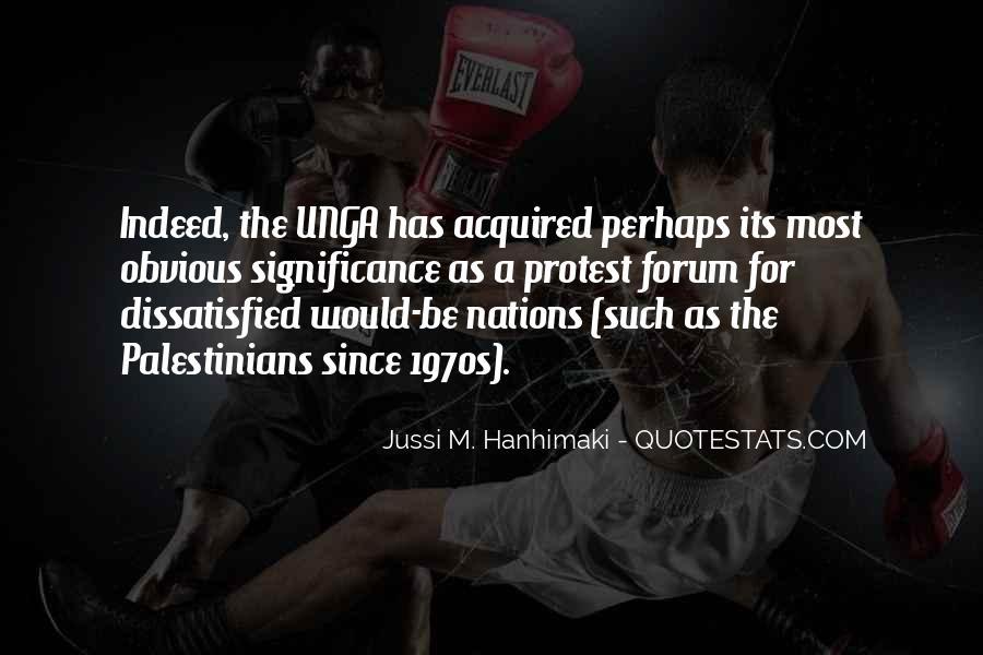 Jussi M. Hanhimaki Quotes #1078261