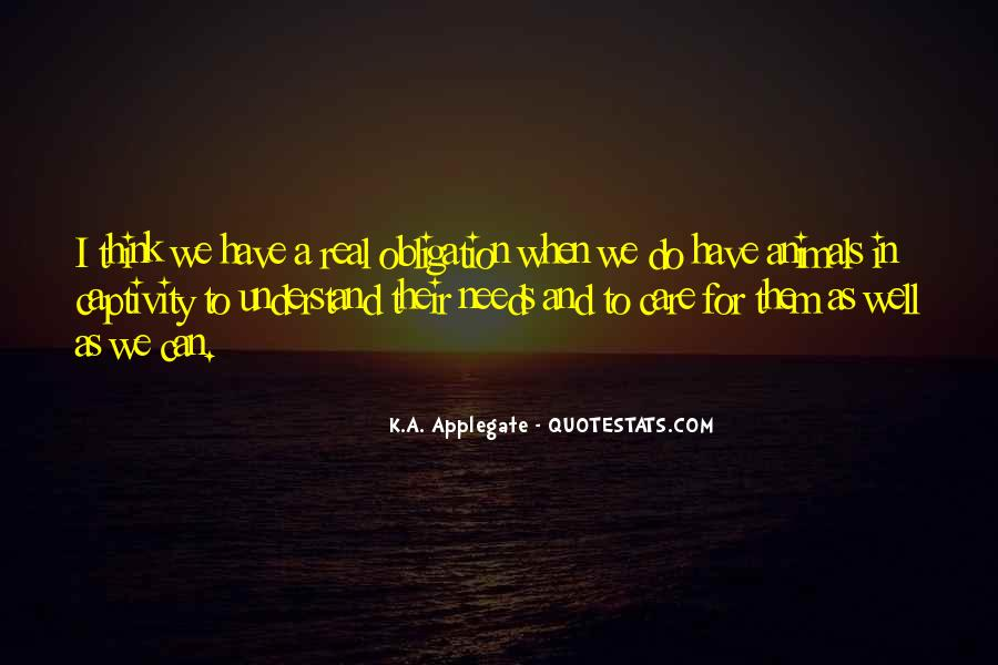K.A. Applegate Quotes #1377347