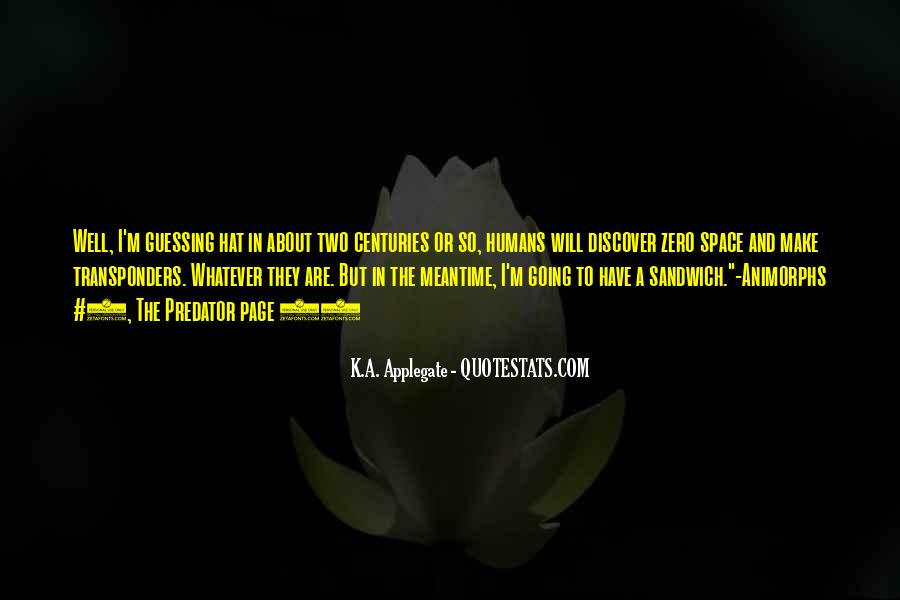 K.A. Applegate Quotes #213751
