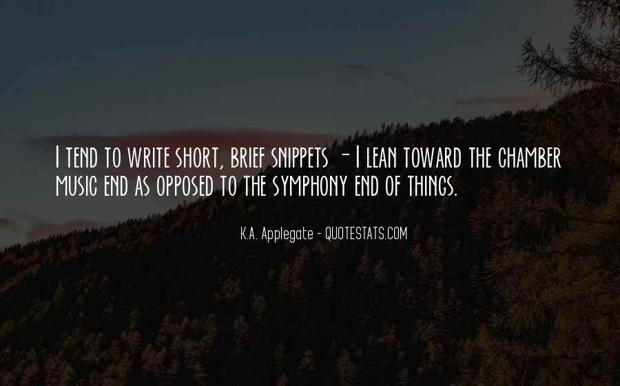 K.A. Applegate Quotes #978560