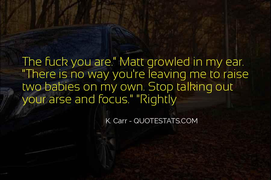 K. Carr Quotes #606454
