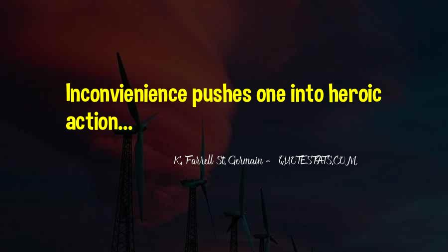 K. Farrell St. Germain Quotes #1228060