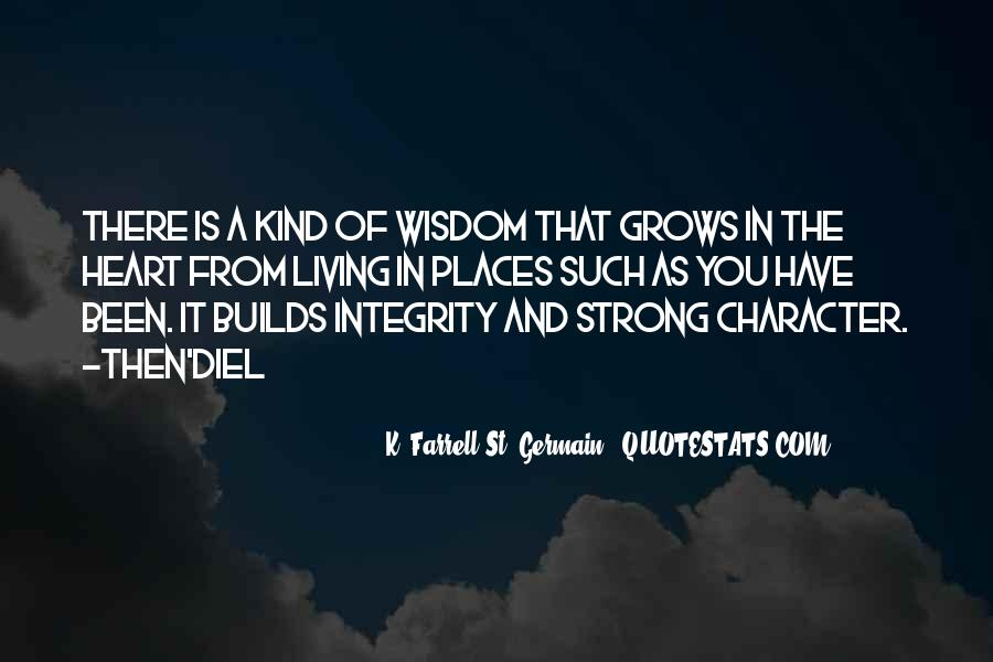 K. Farrell St. Germain Quotes #1671809