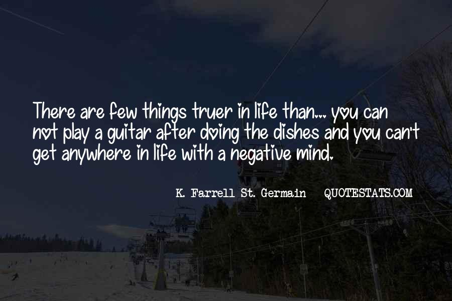 K. Farrell St. Germain Quotes #27879
