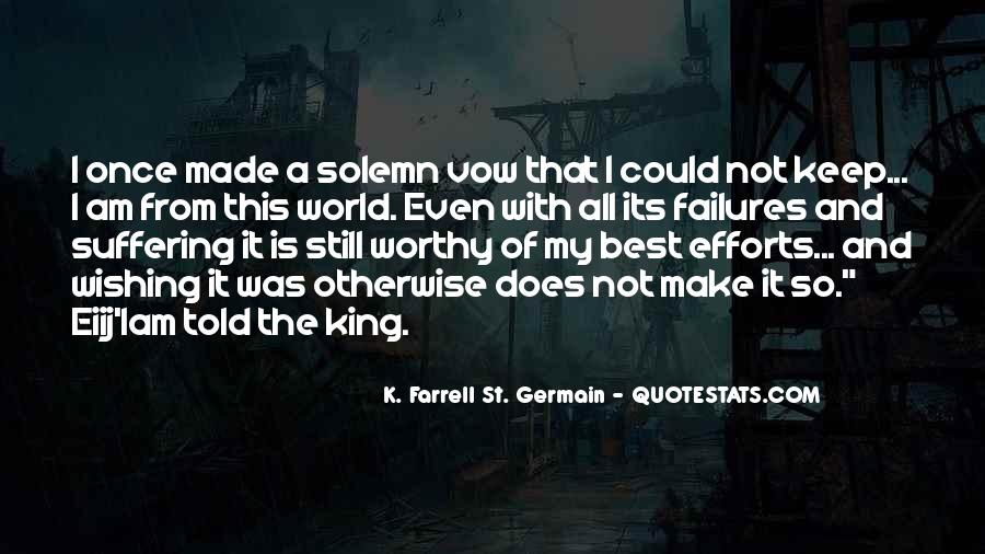 K. Farrell St. Germain Quotes #445971