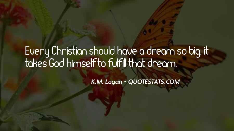 K.M. Logan Quotes #30159