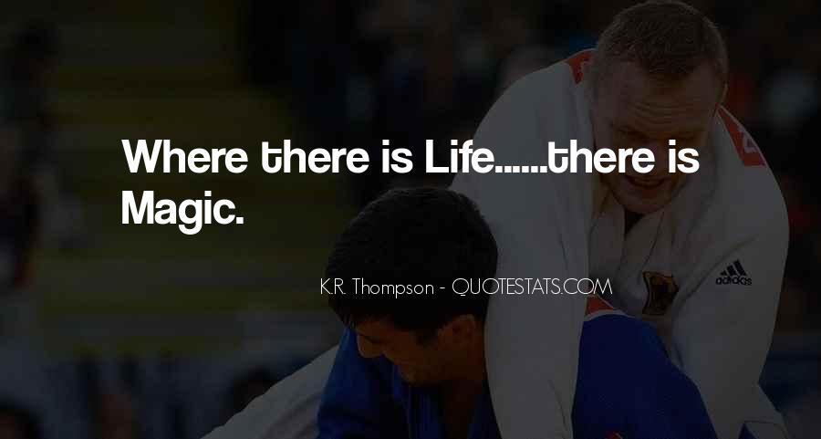 K.R. Thompson Quotes #50706