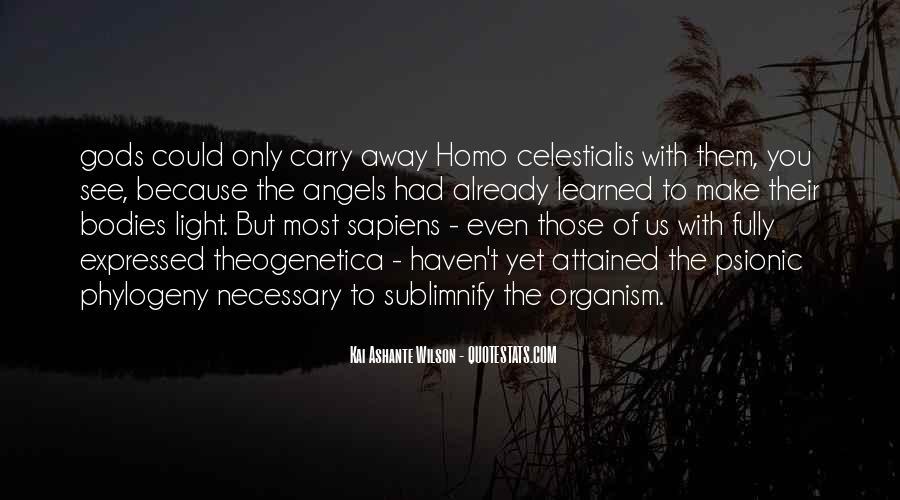 Kai Ashante Wilson Quotes #1513253