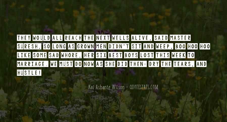 Kai Ashante Wilson Quotes #1548687