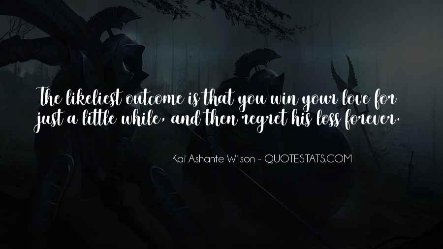Kai Ashante Wilson Quotes #596835