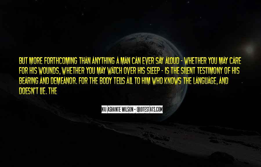 Kai Ashante Wilson Quotes #941870